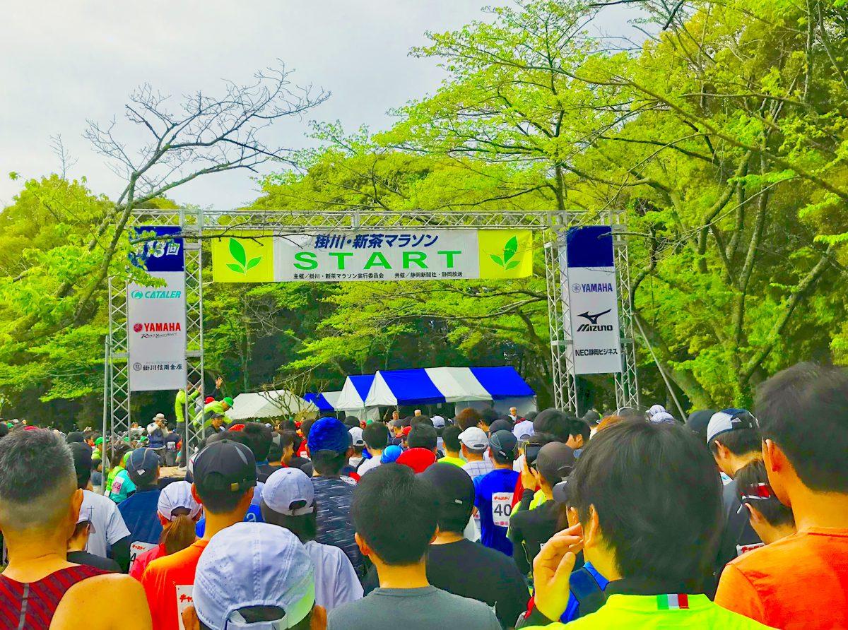 初マラソン出場!!
